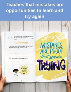growth mindset journal for kids inner pages